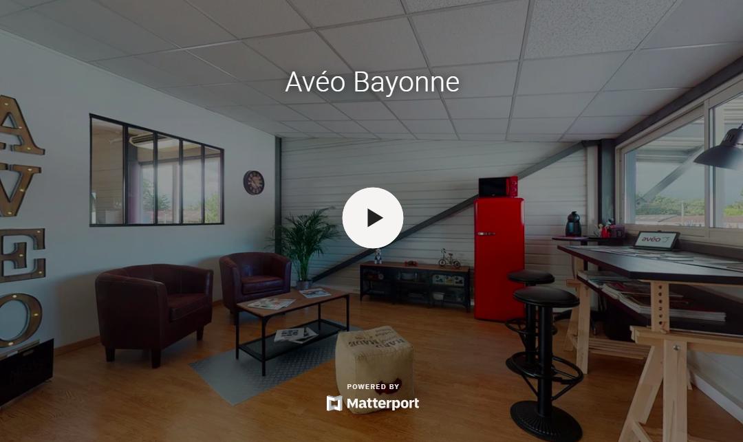 Avéo Bayonne : la visite des bureaux