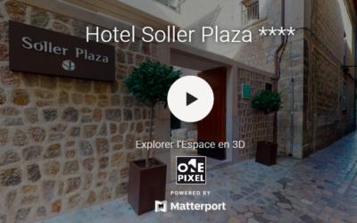 L'élégant et authentique Hotel Soller Plaza, côte Nord de Mallorca, un établissement hôtelier 4 étoiles situé au cœur du village de Soller, au pied de la Sierra Tramuntana et à 5 kilomètres de la mer. Mer ou montagne ? Et pourquoi pas les deux ? Laissez-vous charmer ! Vol direct depuis Bordeaux et Bilbao : 1h20 et prix très doux…
