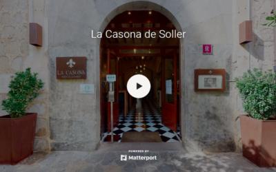 Restaurant La Casona, sur la place du village de Soller, Mallorca. Chargé d'histoire et rénové récemment il a conservé son style et sa patine. C'est le lieu idéal pour un délicieux moment de détente et de tentations culinaires à partager.